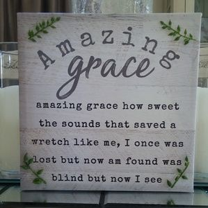 Other - 🏠HOME DECORATION/AMAZING GRACE